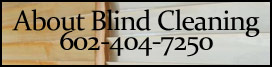 About blind cleaning scottsdale