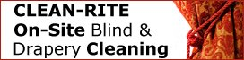 Clean rite onsite blind & drapery cleaning